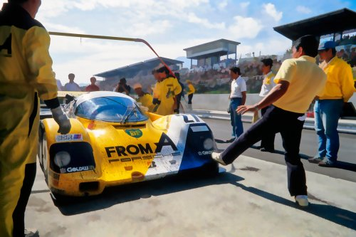 IB TREBBIEN – From A Porsche 962